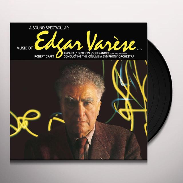 Edgard Varese MUSIC OF EDGAR VARESE 2 Vinyl Record