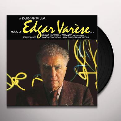 Edgard Varese MUSIC OF EDGAR VARESE 2 Vinyl Record