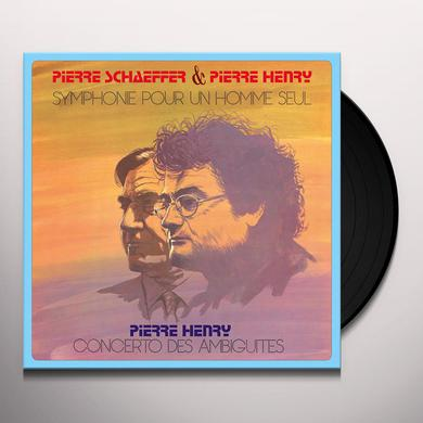Pierre Schaeffer / Harvey Pierre SYMPHONE POUR UN HOMME SEUL - CONCERTO DES Vinyl Record