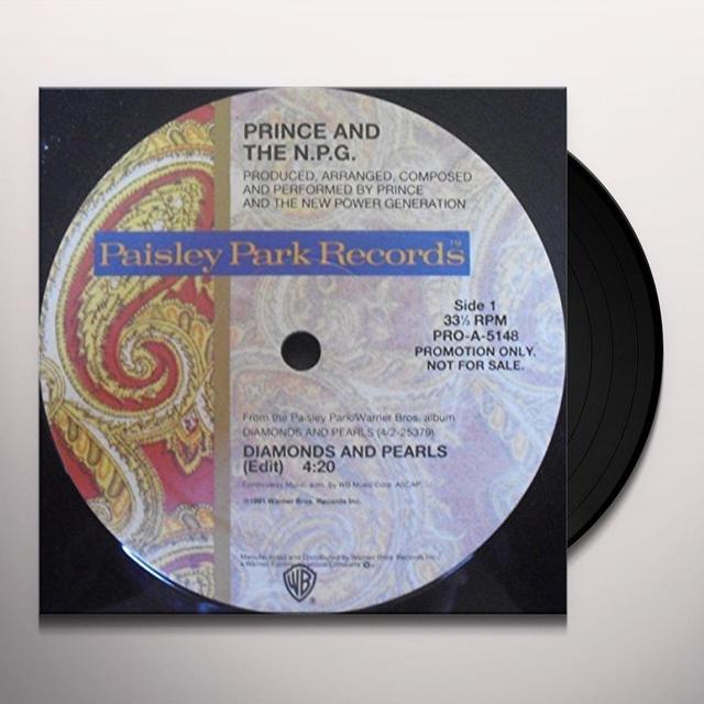 Prince DIAMONDS & PEARLS Vinyl Record
