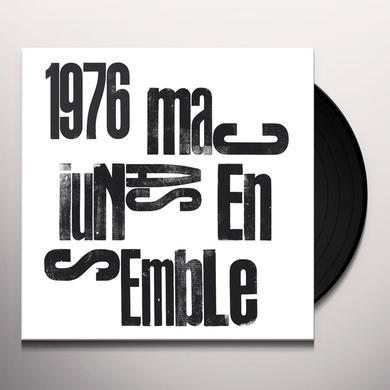 MACIUNAS ENSEMBLE 1976 Vinyl Record