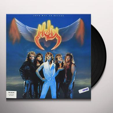 Helix LONG WAY TO HEAVEN Vinyl Record