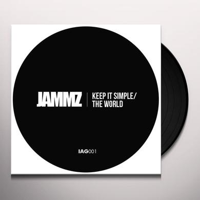 Jammz KEEP IT SIMPL / THE WORLD Vinyl Record