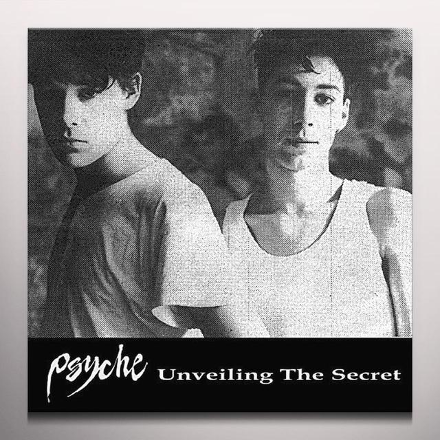 Psyche UNVEILING THE SECRET Vinyl Record - Colored Vinyl, Red Vinyl