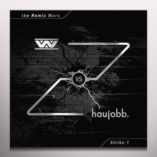 WUMPSCUT VS HAUJOBB REMIX WARS 1 Vinyl Record - Colored Vinyl