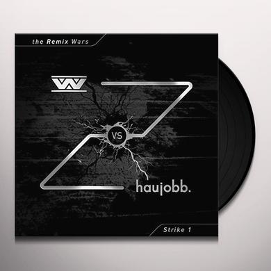 WUMPSCUT VS HAUJOBB REMIX WARS 1 Vinyl Record