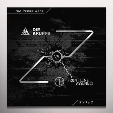 DIE KRUPPS VS FRONT LINE ASSEMBLY REMIX WARS 2 Vinyl Record - Colored Vinyl, Green Vinyl