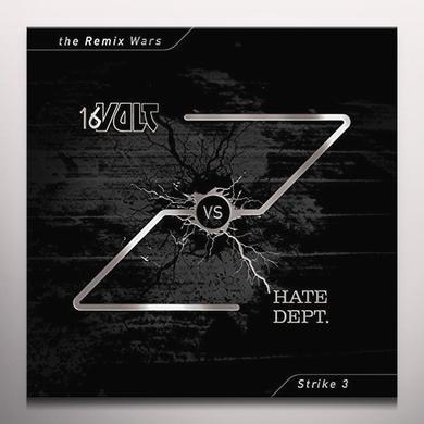 16 VOLT VS HATE DEPT REMIX WARS 3 Vinyl Record - Colored Vinyl, Red Vinyl