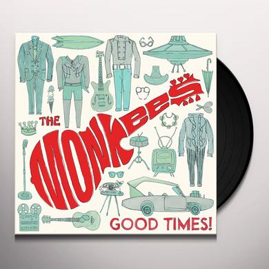Monkees GOOD TIMES Vinyl Record - 180 Gram Pressing