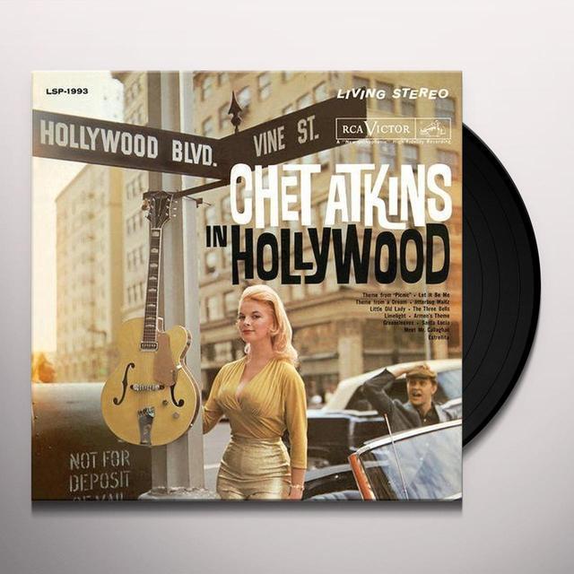 Chet Atkins IN HOLLYWOOD Vinyl Record - 180 Gram Pressing
