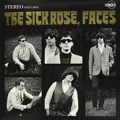 The Sick Rose FACES Vinyl Record - Italy Import