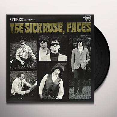 The Sick Rose FACES Vinyl Record