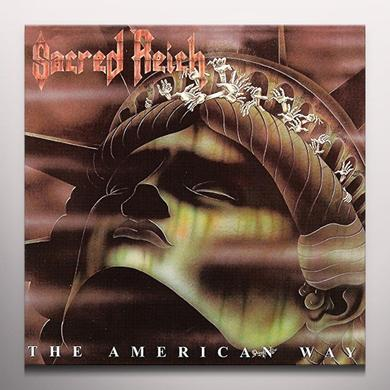 Sacred Reich AMERICAN WAY Vinyl Record - Colored Vinyl, UK Import