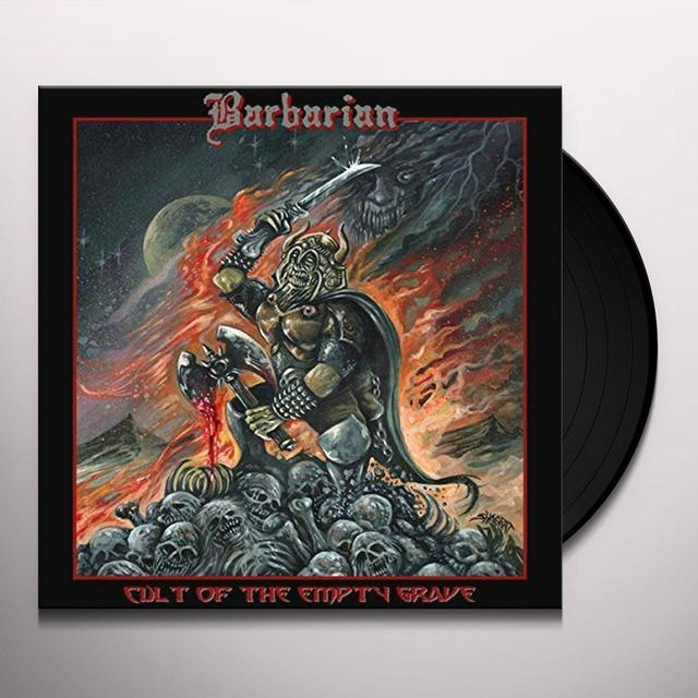 Barbarian CULT OF THE EMPTY GRAVE Vinyl Record - UK Import