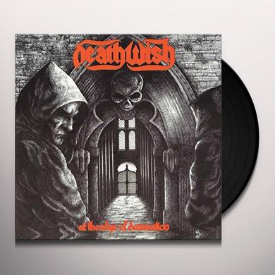 DEATHWISH AT THE EDGE OF DAMNATION Vinyl Record - UK Import