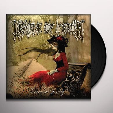 Cradle Of Filth EVERMORE DARKLY Vinyl Record - UK Import