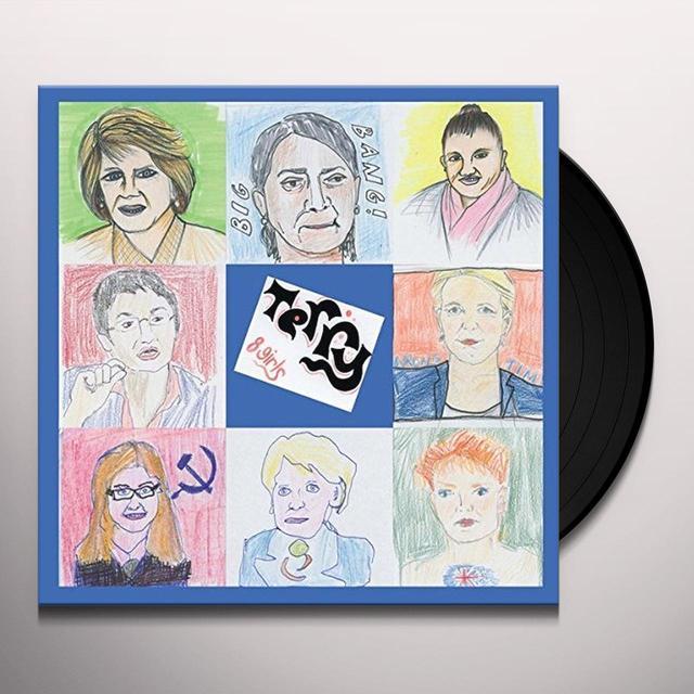 Terry 8 GIRLS Vinyl Record - UK Release