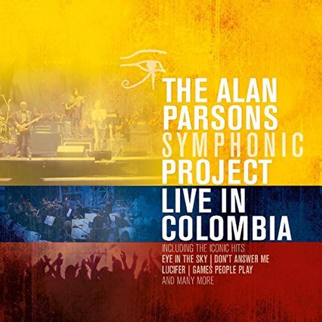 ALAN PARSONS SYMPHONIC PROJECT LIVE IN COLOMBIA Vinyl Record