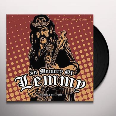 IN MEMORY OF LEMMY - TRIBUTE TO MOTORHEAD / VAR Vinyl Record