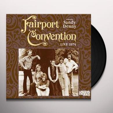 Fairport Convention LIVE AT MY FATHERS PLACE 1974 Vinyl Record