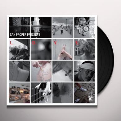 San Proper L.O.V.E. Vinyl Record