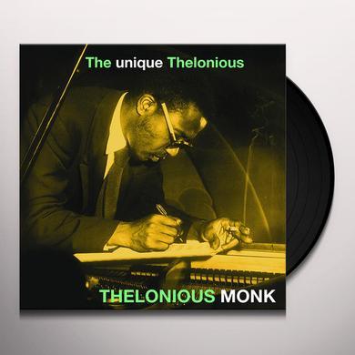 Thelonious Monk UNIQUE THELONIOUS Vinyl Record