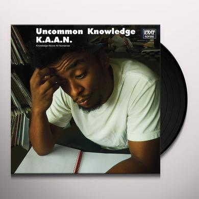 K.A.A.N. UNCOMMON KNOWLEDGE Vinyl Record