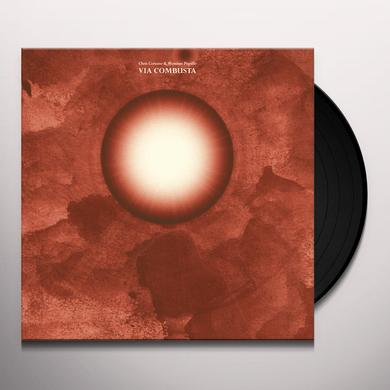 Chris Corsano / Massimo Pupillo VIA COMBUSTA Vinyl Record