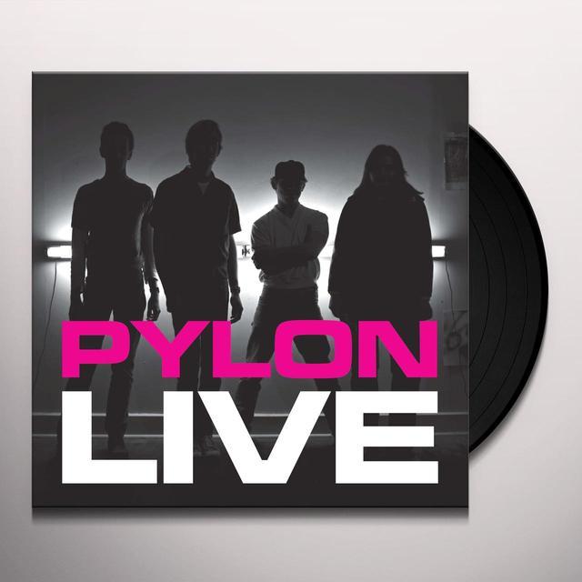 PYLON LIVE Vinyl Record