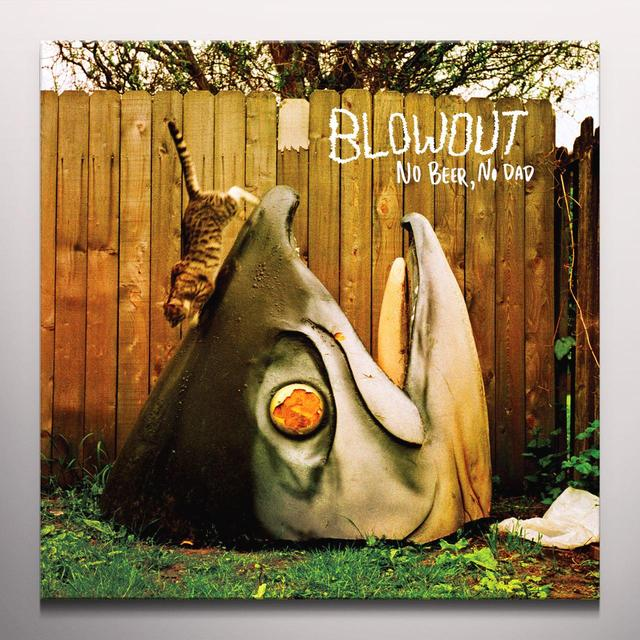 BLOWOUT NO BEER NO DAD Vinyl Record - Orange Vinyl