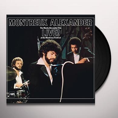 Monty Trio Alexander LIVE! AT THE MONTREUX FES Vinyl Record