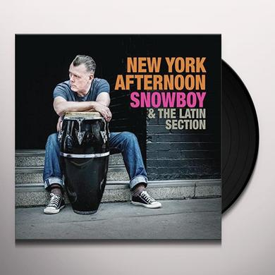 Snowboy & The Latin Section / Marc Evans NEW YORK AFTERNOON Vinyl Record - UK Import