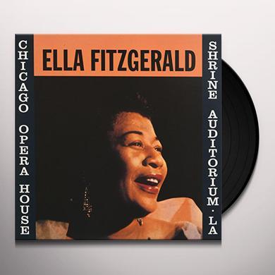 Ella Fitzgerald AT THE OPERA HOUSE Vinyl Record
