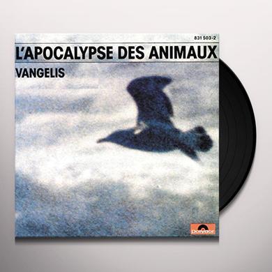 Vangelis L'APOCALYPSE DES ANIMAUX Vinyl Record - UK Import