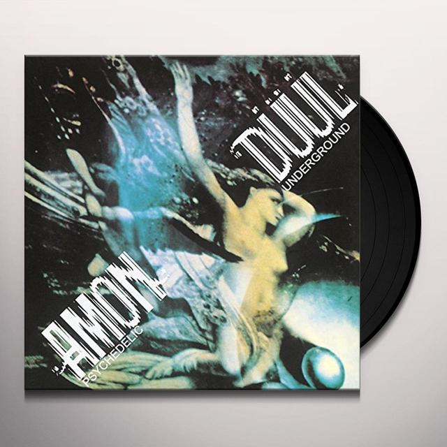 Amon Duul PSYCHEDELIC UNDERGROUND Vinyl Record - Italy Import