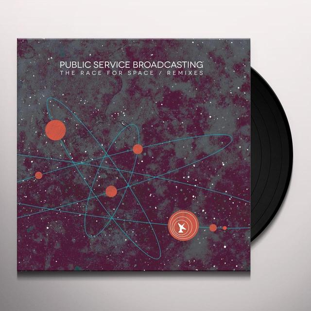 Public Service Broadcasting RACE FOR SPACE / REMIXES Vinyl Record - Digital Download Included