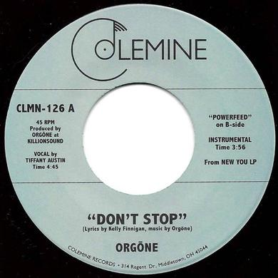 Orgone DON'T STOP Vinyl Record