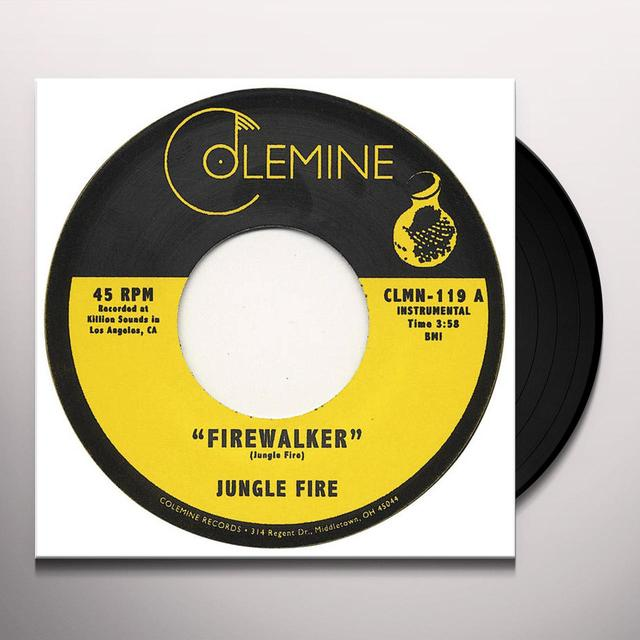 Jungle Fire FIREWALKER / CHALUPA Vinyl Record