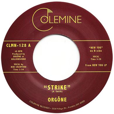 Orgone STRIKE / NEW YOU Vinyl Record