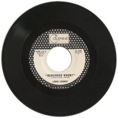 Leroi Conroy REMEMBER WHEN Vinyl Record