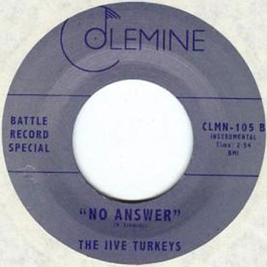 Ikebe Shakedown JIVE TURKEYS / NO ANSWER Vinyl Record