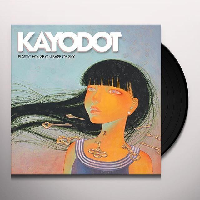 Kayo Dot PLASTIC HOUSE ON BASE OF SKY Vinyl Record