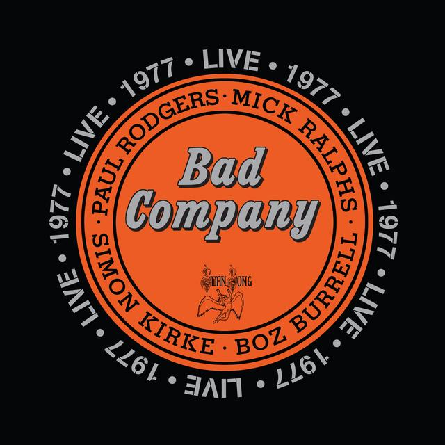 Bad Company LIVE 1977 Vinyl Record - 180 Gram Pressing