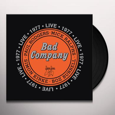 Bad Company LIVE 1977 Vinyl Record - 180 Gram Pressing