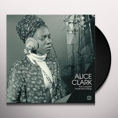 Alice Clark COMPLETE STUDIO RECORDINGS Vinyl Record