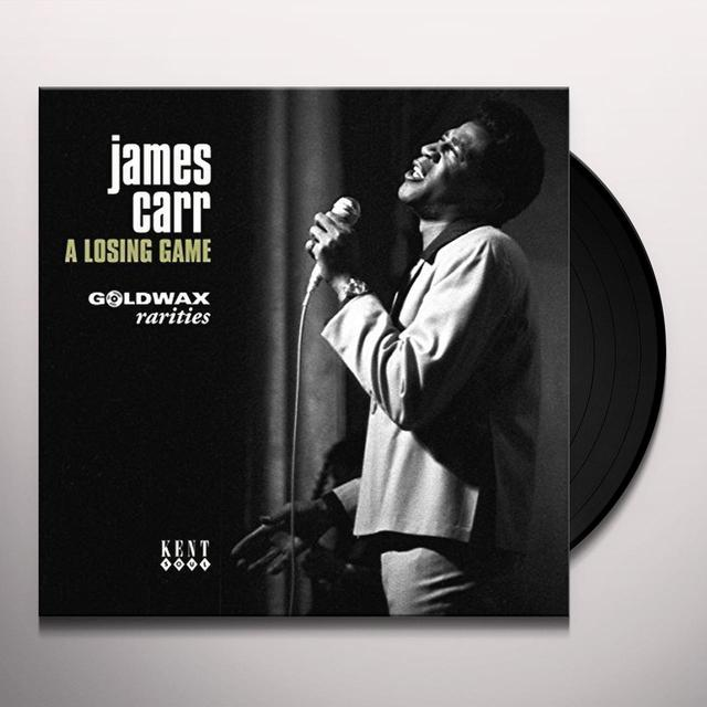 James Carr LOSING GAME: GOLDWAX RARITIES Vinyl Record - UK Import