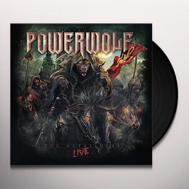 Powerwolf METAL MASS LIVE Vinyl Record - UK Import