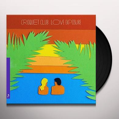 Croquet Club LOVE EXPOSURE Vinyl Record - UK Import