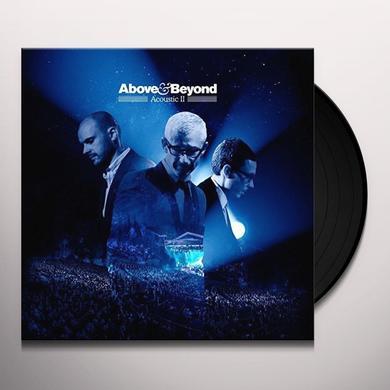Above & Beyond ACOUSTIC II Vinyl Record - UK Import