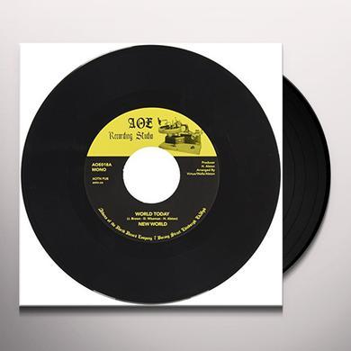 New World WORLD TO-DAY Vinyl Record